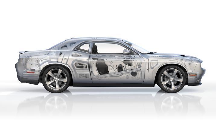 High-strength Steel in 2017 Dodge Challenger