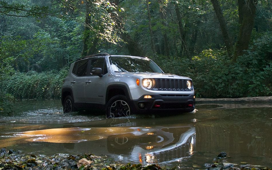 New Jeep Renegade Water Fording Capability