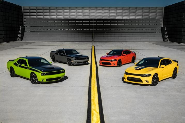 2017 Dodge Challenger and Dodge Charger