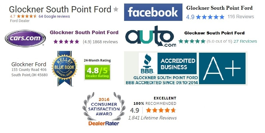 Glockner Auto Credit >> Glockner South Point Ford Dealership | Ford Trucks, Ford SUVs, & Ford Cars for Sale South Point ...