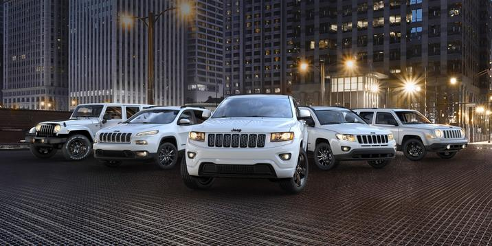 Jeep Grand Cherokee, Wrangler Unlimited, Cherokee, Patriot and more pictured in Denver