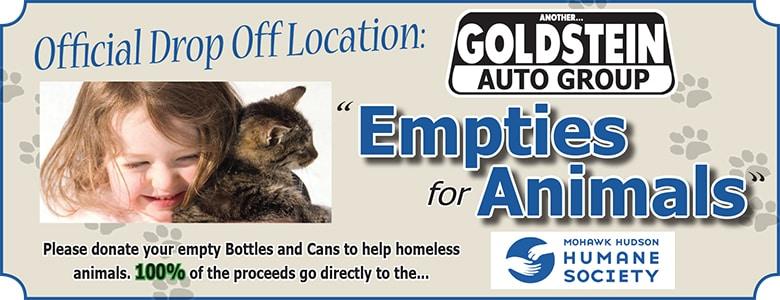 Goldstein Auto Empties For Animals