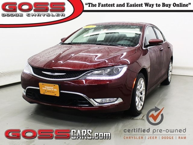 RPMWired.com car search / 2015 Chrysler 200