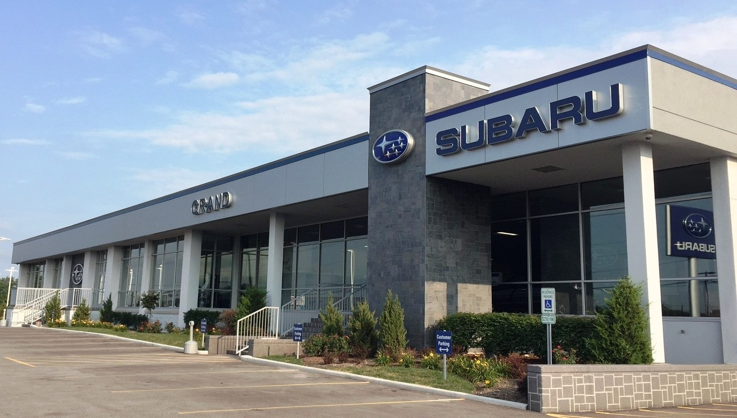 new used subaru dealership near elmhurst il grand subaru. Black Bedroom Furniture Sets. Home Design Ideas