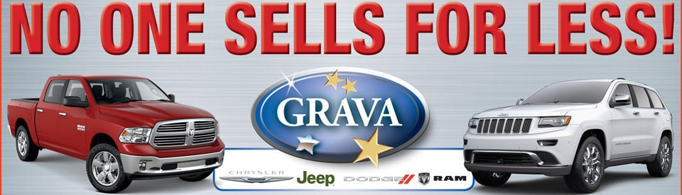 Grava Jeep Dodge Chrysler Ram No One Sells For Less