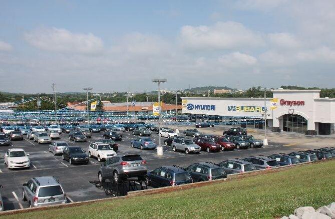 Ford dealership parkside drive knoxville tn