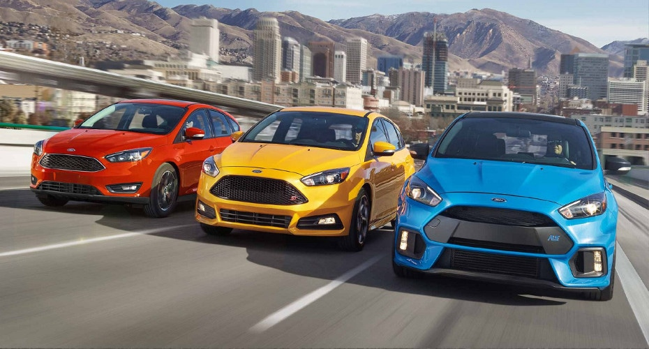 2018 Ford Focus lineup image