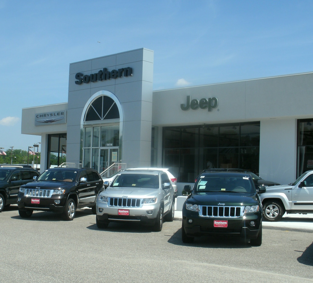 About Southern Chrysler Jeep Greenbrier Dealership In