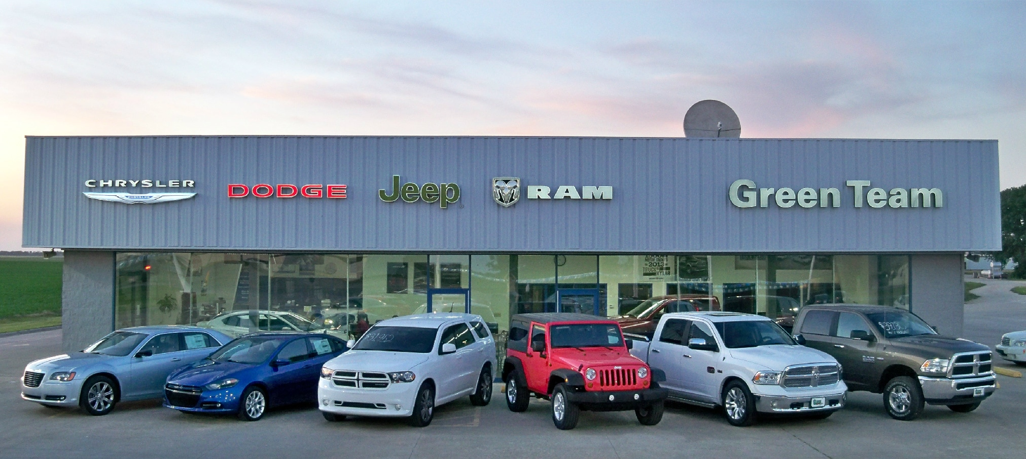 pontiac chrysler dodge jeep dealership in clay center in january 2006. Cars Review. Best American Auto & Cars Review