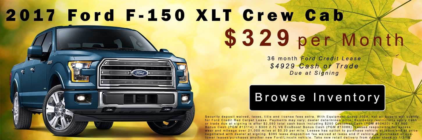 F150 Lease Special