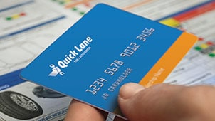 Quick Lane Credit Card at Gresham Ford