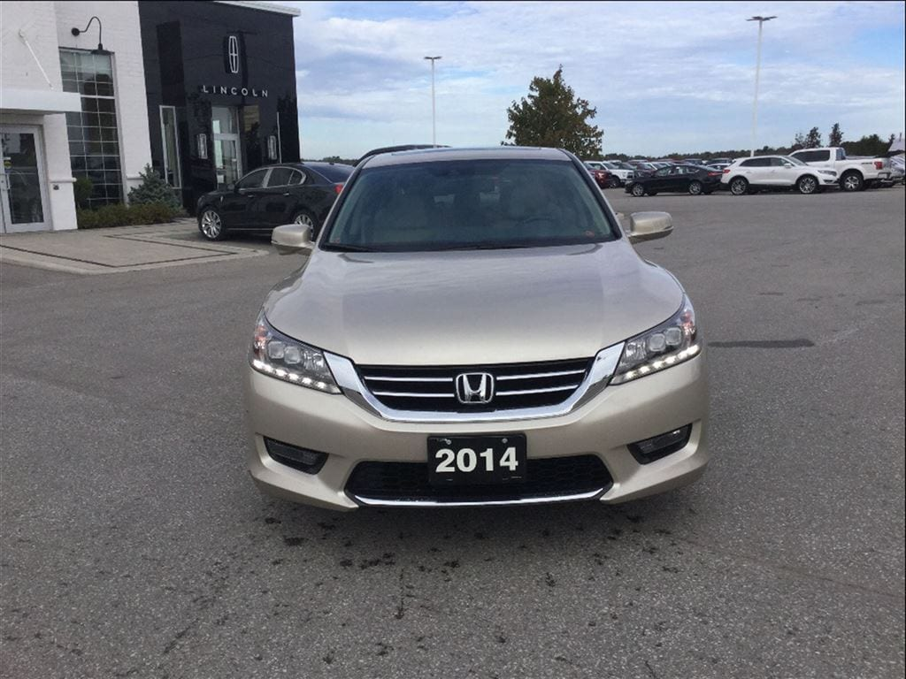 2014 honda accord sedan touring for sale watford on for Honda accord 2014 for sale