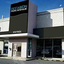 Méga Centre Park Avenue La Prairie, Façade