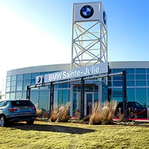 BMW Sainte-Julie, Fa�ade du b�timent.