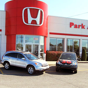 Park Avenue Honda, fa�ade.