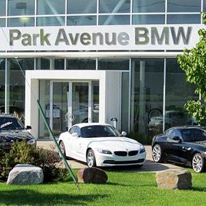 Park Avenue BMW, fa�ade.