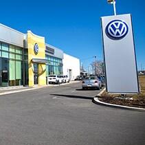 Park Avenue Volkswagen, Fa�ade du b�timent.