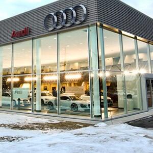 Park Avenue Audi, fa�ade.