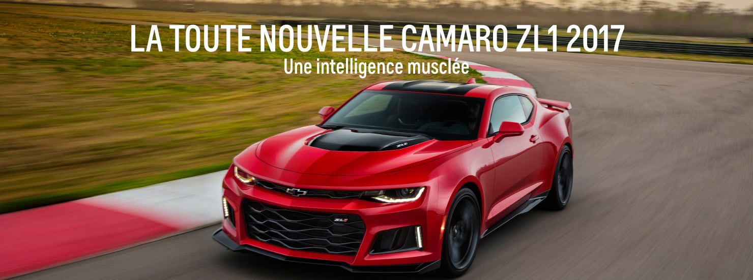 440 laval chevrolet pr sente la camaro zl1 2017. Black Bedroom Furniture Sets. Home Design Ideas