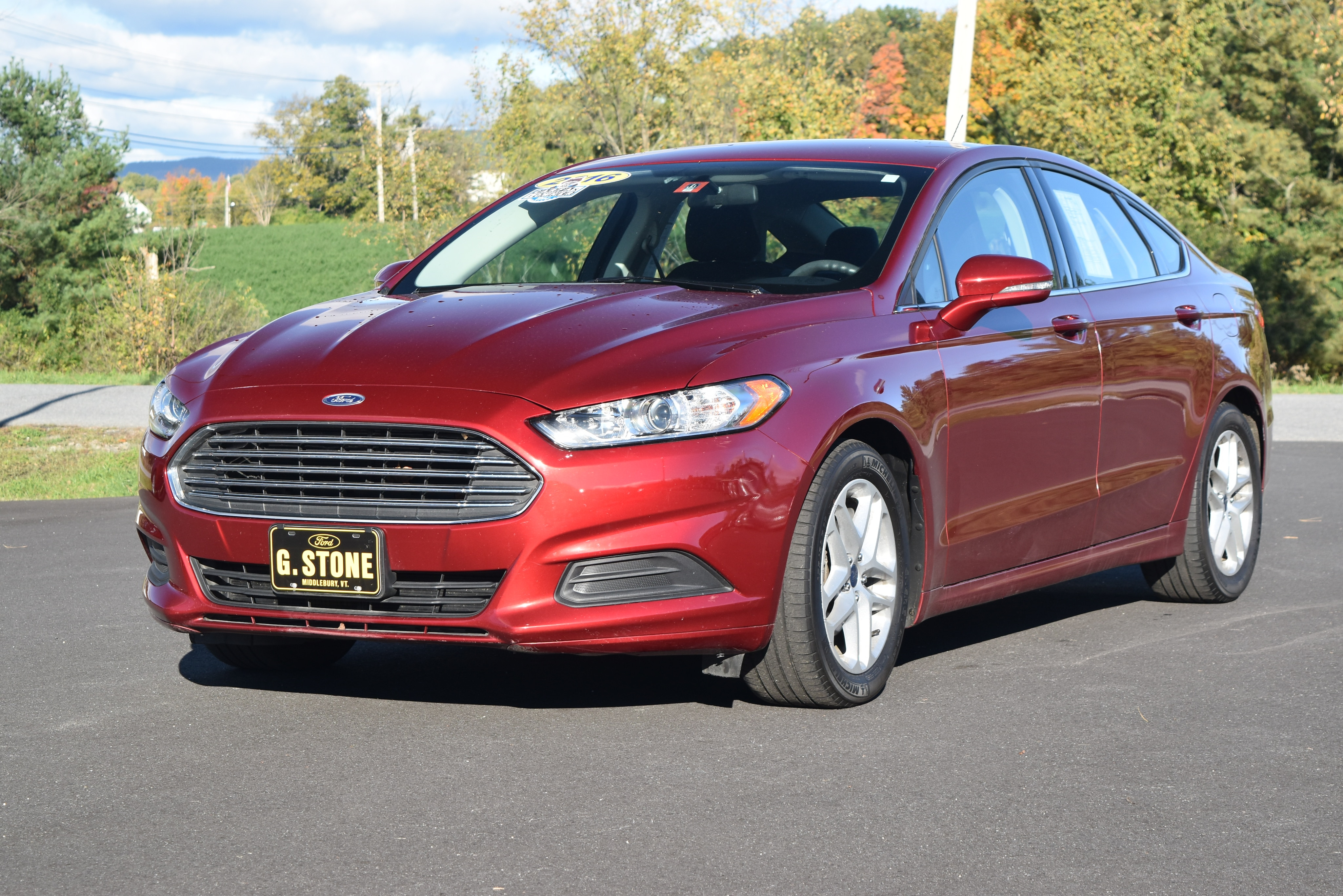 RPMWired.com car search / 2016 Ford Fusion
