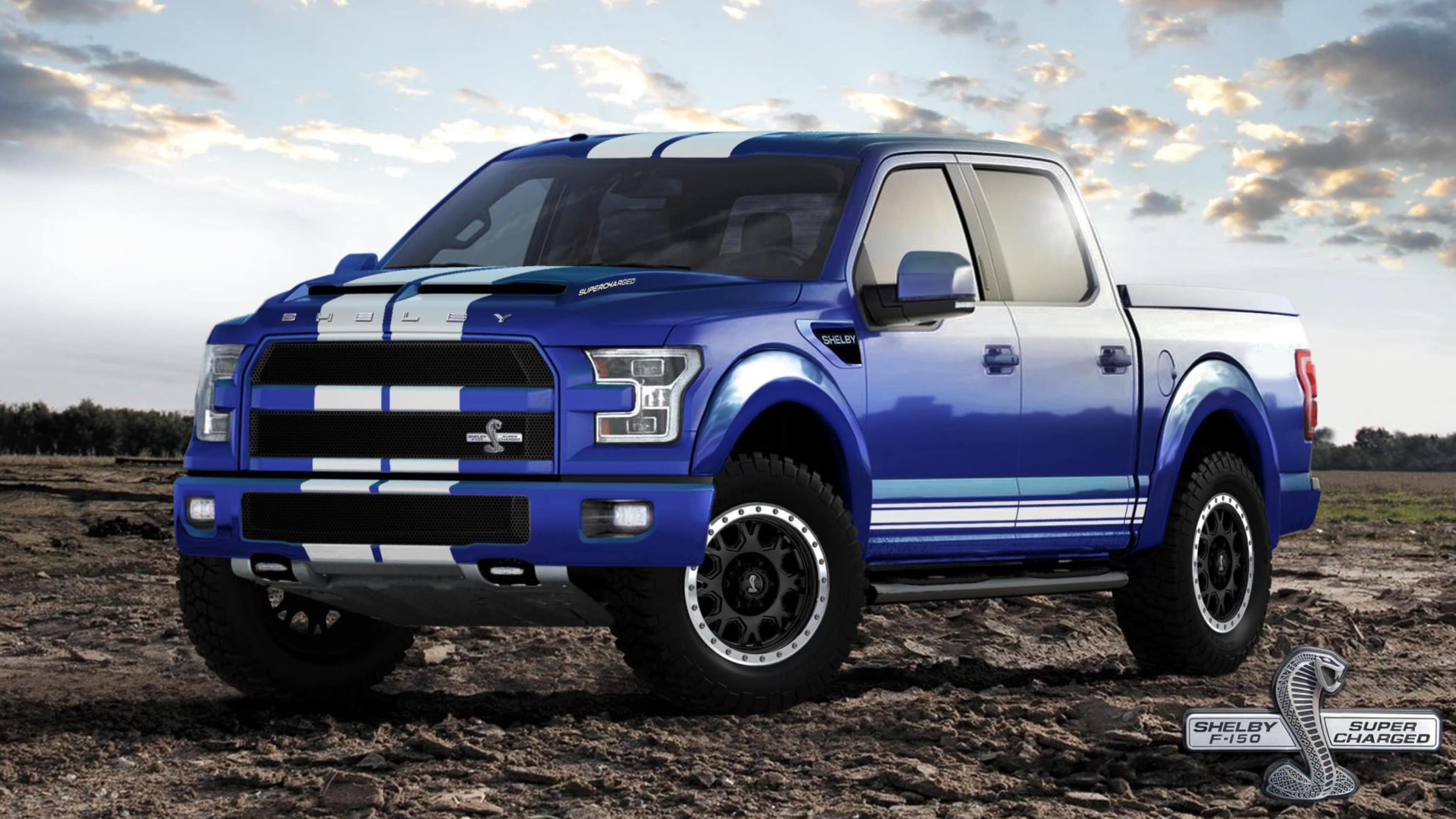 Shelby Brings The Blue Thunder To Sema With 700hp F 150 Truck | 2017 - 2018 Cars Reviews
