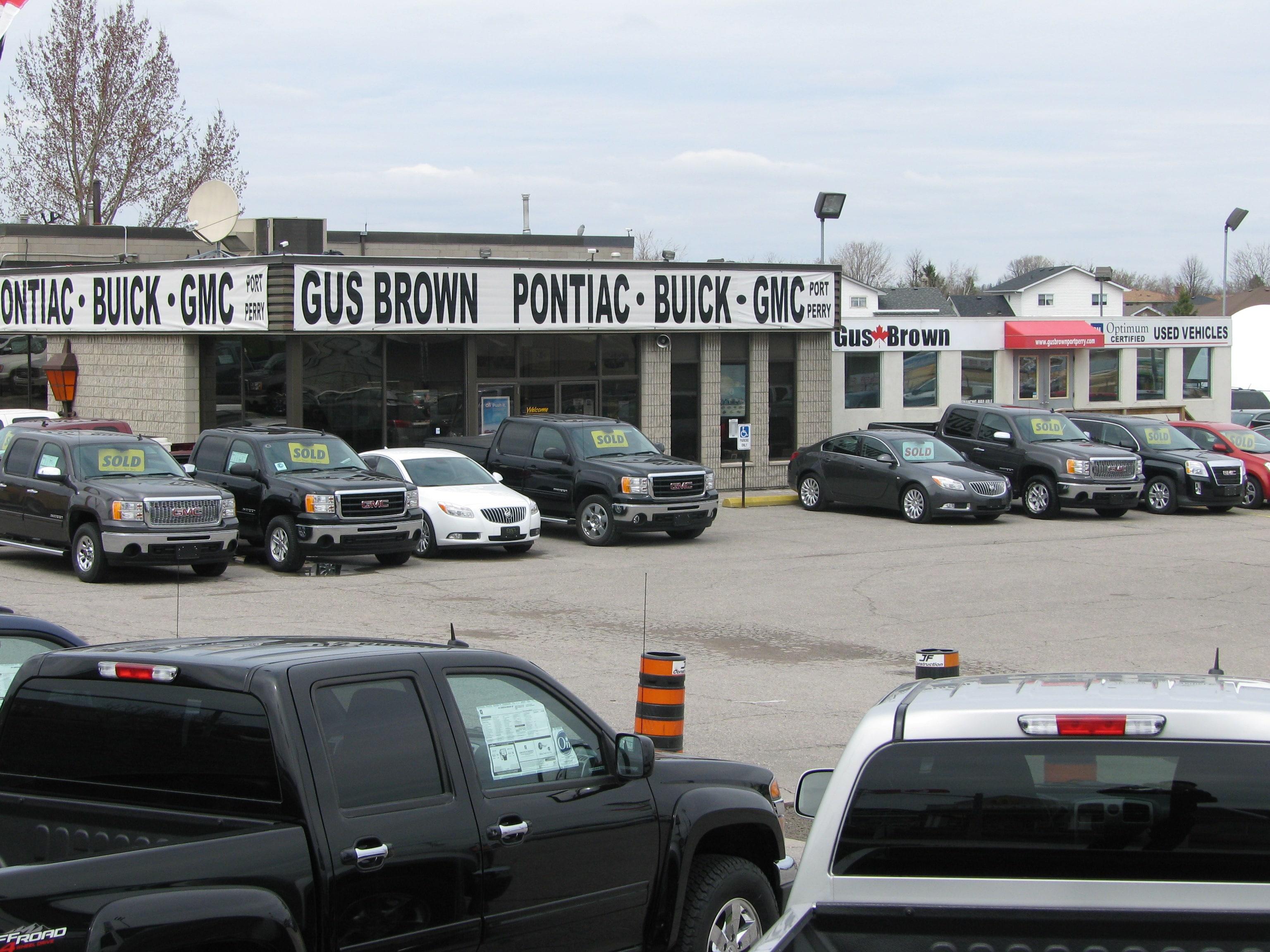 Gus Brown Pontiac Buick GMC