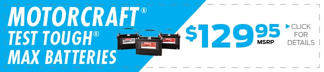 Motorcraft® Tested Tough® Max Battery Coupon, Duluth