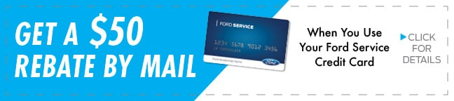 Ford Service Credit Card - $25 Rebate Coupon, Duluth