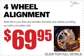 4 Wheel Alignment Service Specials Duluth GA