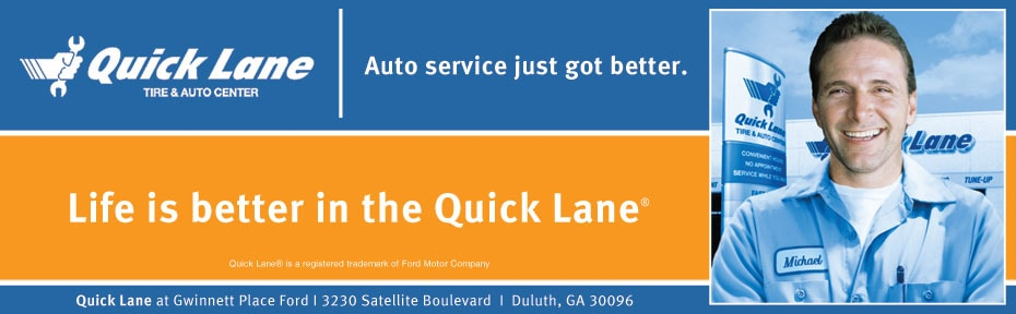 Ford Quick Lane Service Duluth GA