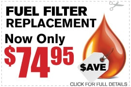 Fuel Filter Service Specials Duluth GA