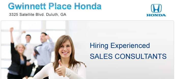 Gwinnett place honda jobs near atlanta automotive jobs ga for Gwinnett place honda service