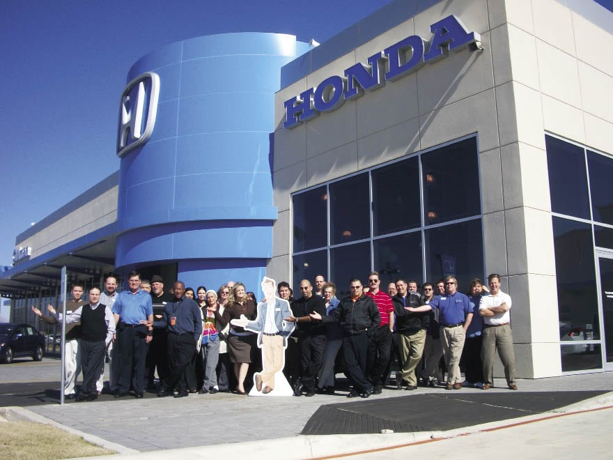 gillman automotive group gillman honda san antonio earns