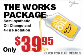 The Works Ford Oil Change Service Specials Duluth GA
