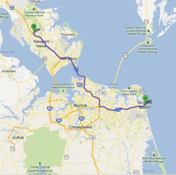Virginia Beach Acura Car Dealer New Acura Inventory Map