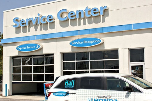 Hall Honda Virginia Beach Service Center