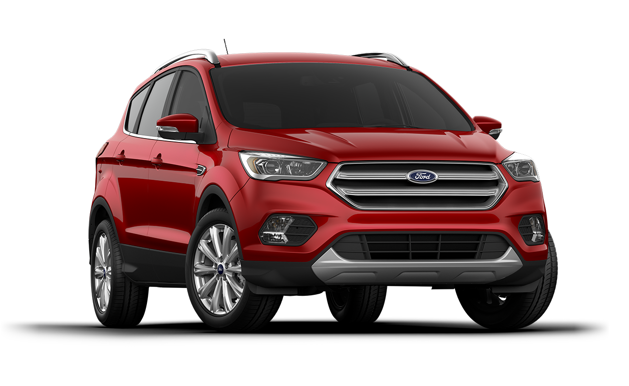 2018 Ford Escape Titanium Ruby Red
