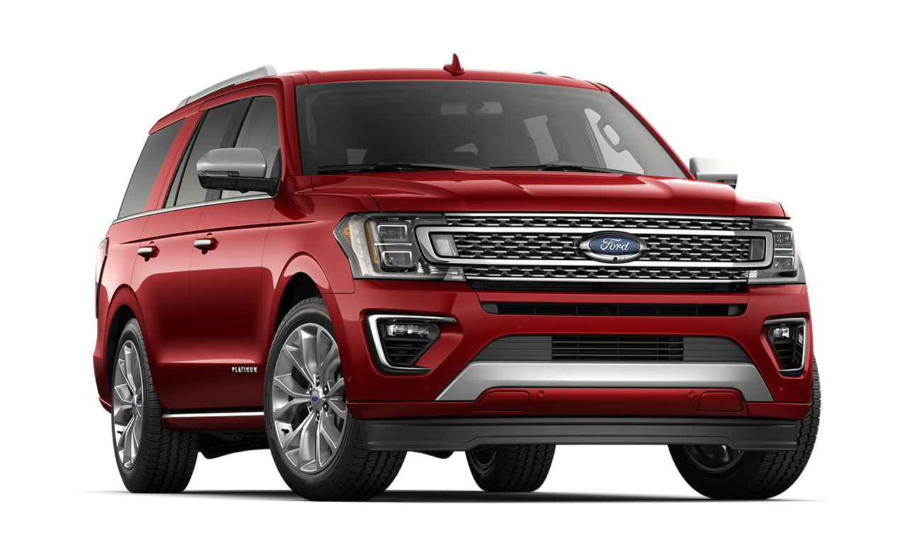2018 Ford Expedition Platinum Ruby Red