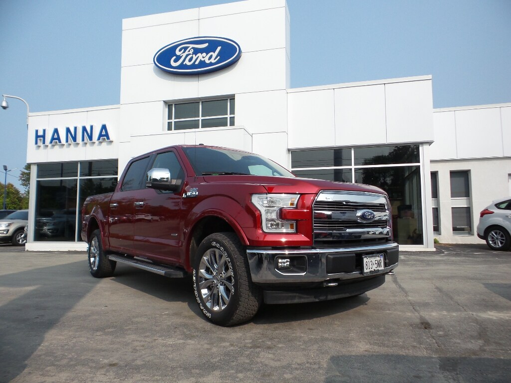 2017 Ford F-150 *DEMO*SUPERCREW LARIAT*CHROME*502A*4X4 3.5L V6 ECO Super Crew