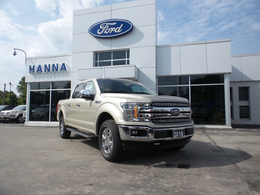 2018 Ford F-150 0% FINANCING! SUPER CREW LARIAT*CHROME*4X4 5.0L V8 Super Crew
