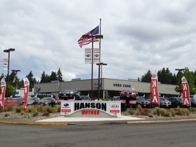 Hanson kia new kia dealership in olympia wa 98502 in for Hanson motors service department