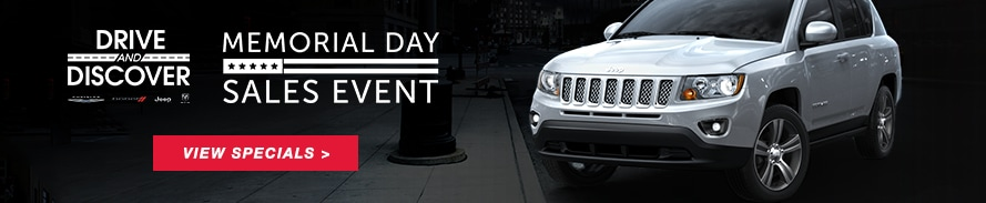 Harr Chrysler Jeep Dodge Ram Memorial Day Sales Event