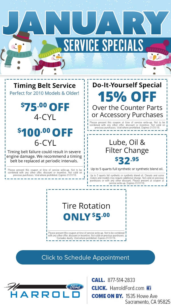 Ford service specials harrold ford ford service coupon specials near sacramento ca solutioingenieria Image collections