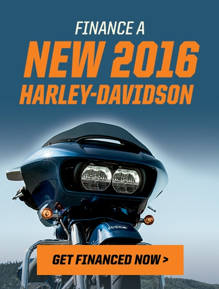 Finance a New 2016 Harley-Davidson