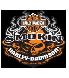 Smokin' Harley-Davidson