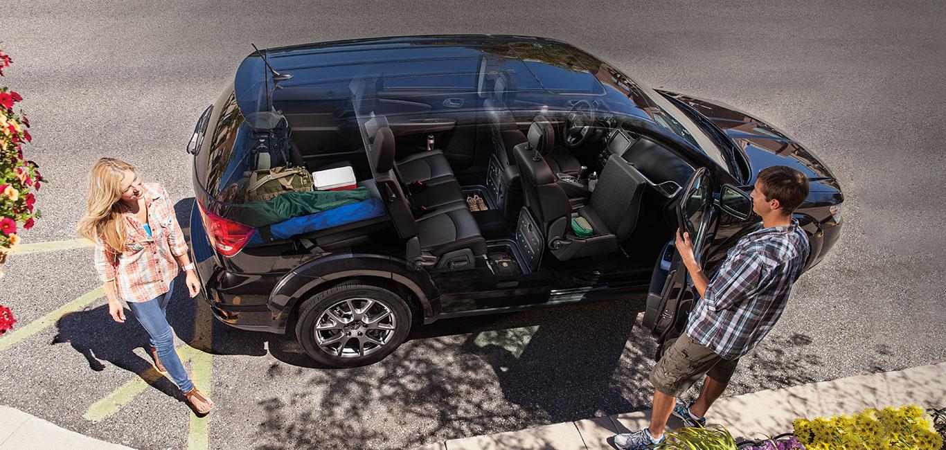 Storage Options: 2015 Dodge Journey in ShreveportHebert's Town ...