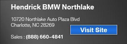 Hendrick BMW  Charlotte NC