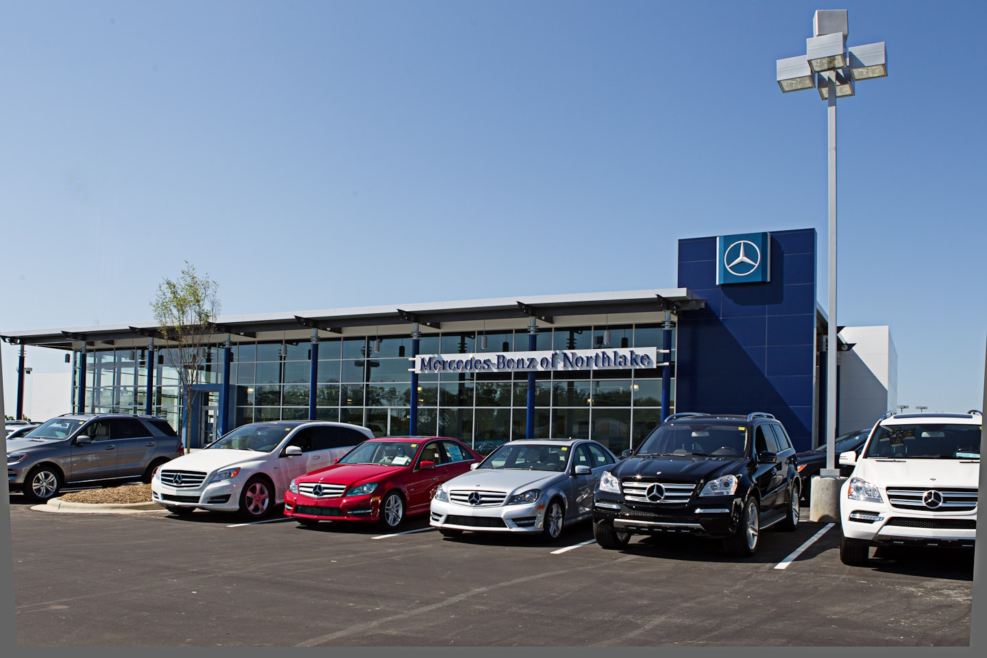 Lease return center mercedes benz of northlake near for Mercedes benz of durham nc