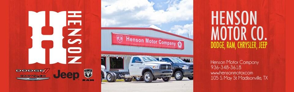 Henson Motor Company   New Chrysler, Dodge, Jeep, Ram ...