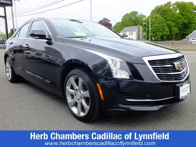Pre-Owned 2015 CADILLAC ATS Luxury AWD